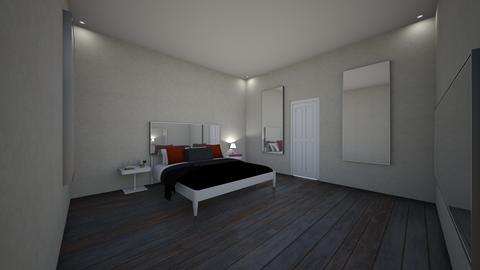 SimpleBedroom - Modern - Bedroom  - by jade1111
