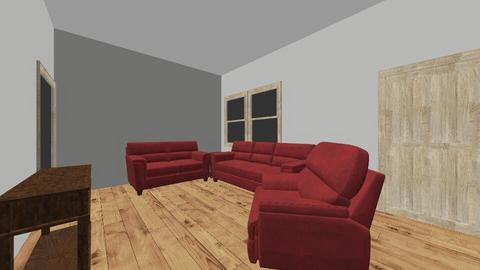 661 Denton Ave Frankfort - Living room  - by Creative Impact Design LLC