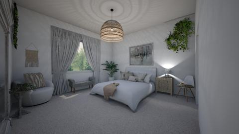 neutral bedroom - Bedroom  - by ange06