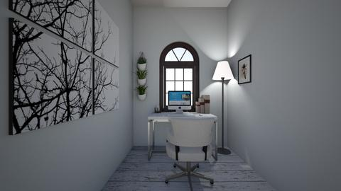 Office part of bedroom - Modern - Office  - by Gumpeee