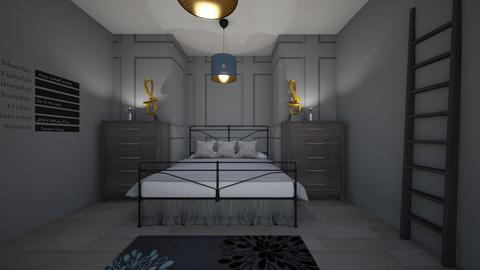 art 8 - Bedroom - by Slow as a Sloth