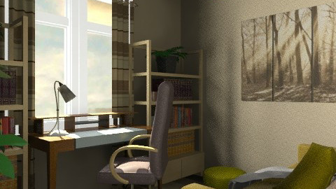 ira office - Eclectic - Office  - by amorgan
