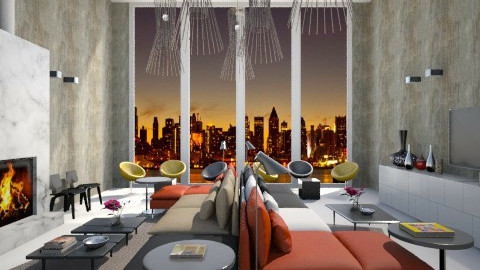 Double Lounge - Modern - Living room  - by 3rdfloor