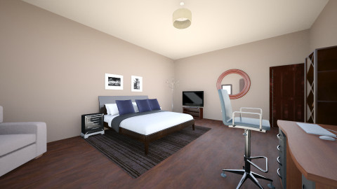 fourth male and office - Classic - Bedroom - by Jo Oliveira