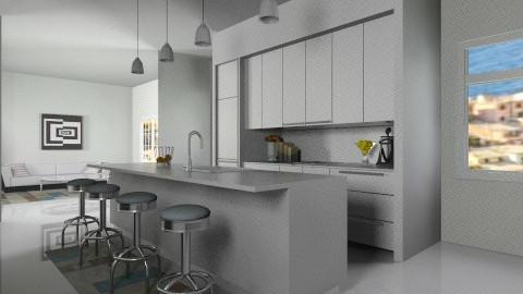 Simplicity  - Modern - Kitchen  - by HGranger2