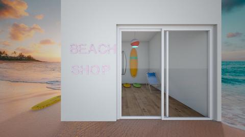 Beach shop - by ATHENANn