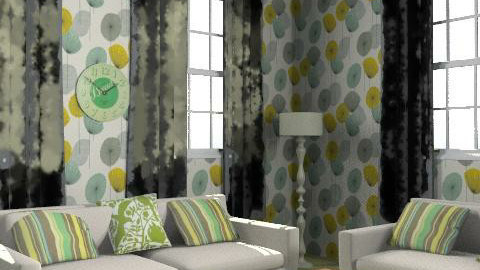 greeeeeen :/ - Glamour - Living room  - by christinam95