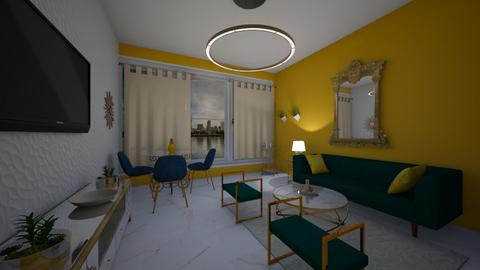 living room colour - Living room - by NWD