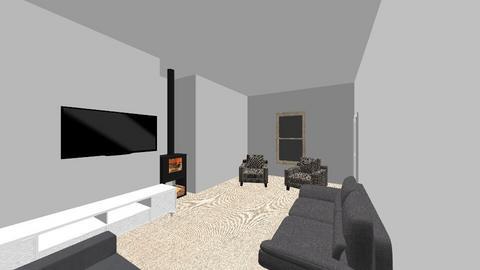 Loddon LR snuggler fish - Living room  - by yannapleby