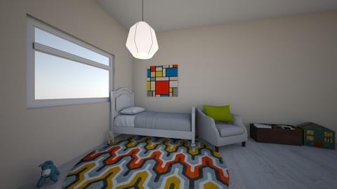 Kids Analogous Bedroom - Kids room  - by RhileyM