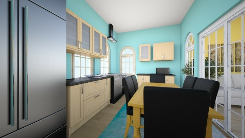 my kitchen - Classic - Kitchen - by sillylily1705