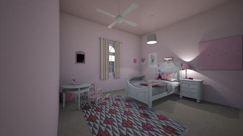 Little Girl Princess Room - Kids room  - by RoomstylerPrincess
