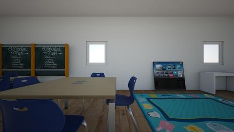 MI AULA 06 - Kids room  - by korice