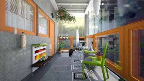 comfy balcony - Modern - by Evangeline_The_Unicorn