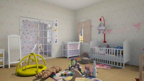 Nursery 1 - Classic - Kids room  - by callmenella
