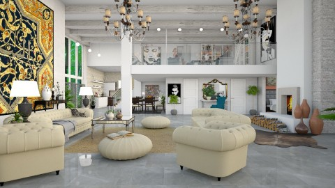 my home  - Modern - Living room  - by Ida Dzanovic
