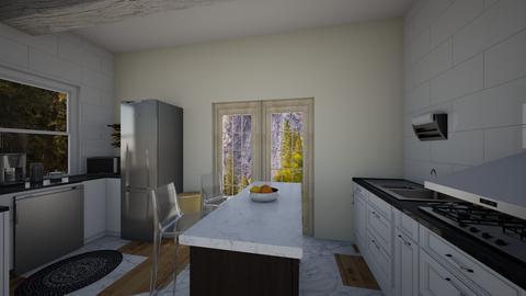 studio kitchen - by dreabaas14