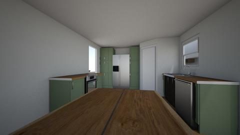 Kitchen with Pantry - Kitchen  - by hbiddick