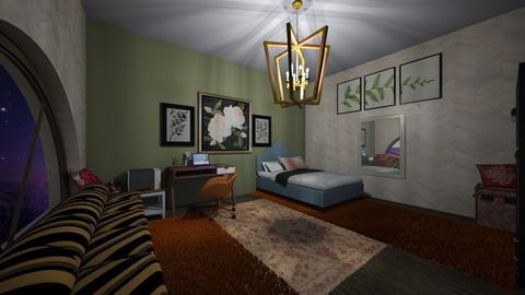 Soft Bedroom - Feminine - Bedroom  - by PAPIdesigns