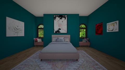 Blush Bedroom - Glamour - Bedroom  - by BaylorBear
