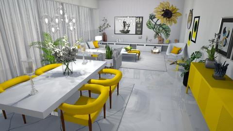 Sunflower Living - Living room  - by matina1976