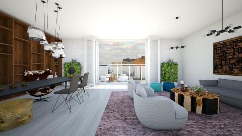 justin - Living room - by Hadar David hay