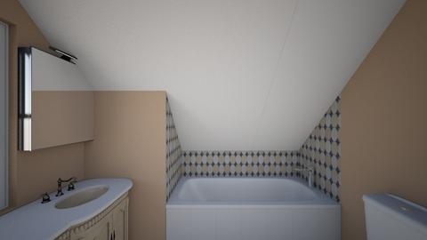Another Attic Bathroom - Bathroom  - by SammyJPili
