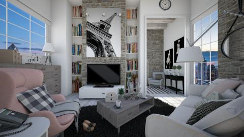 sun  day  - Living room  - by Senia N