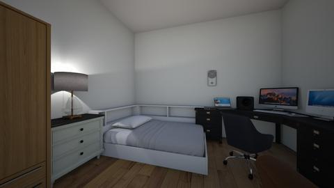Double room - Modern - Bedroom  - by abdulkerilm
