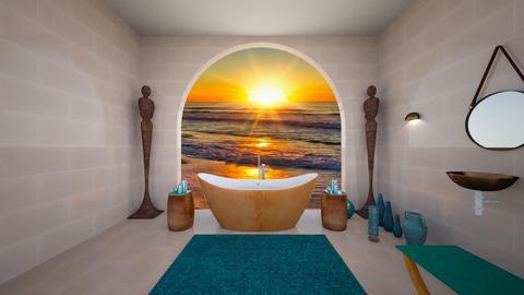 Luxury Freestanding Bath - Bathroom  - by Woodsmoke22