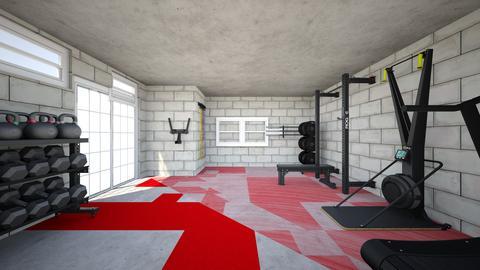 Bedney Basement Gym - by rogue_d2c71abb02b5e21fa7126aef20a36