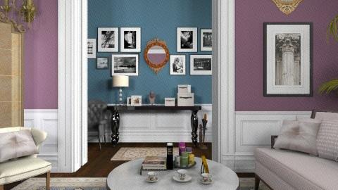 Fancy Living Area Redo - Classic - Living room  - by Yaiqyn