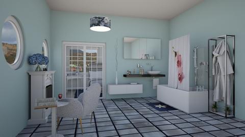 Master EnSuite - Bathroom  - by KarJef