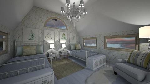 Cottage Attic - by Jamila Savoy