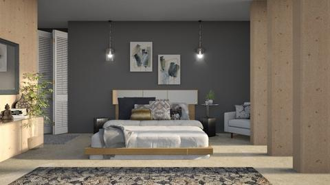 Modern Bedroom - Bedroom  - by Kelli Mallory