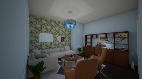 a cozy sheek office  - Classic - Office  - by s _ i _ j