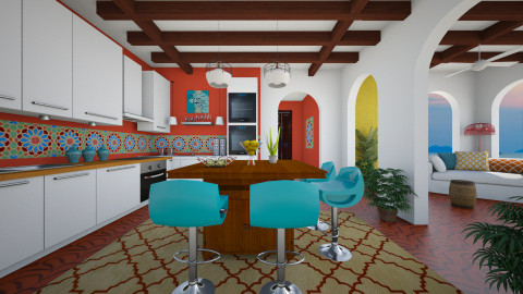 The Villa - Kitchen  - by channing4