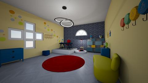 Bauhaus study room - by shelia23