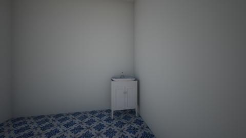 mette sitt - Bathroom  - by Grete Kalvet