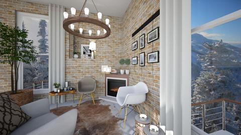 THREE ARMCHAIRS - Living room  - by susilva