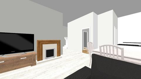 Obyvaci pokoj - Living room - by wertss