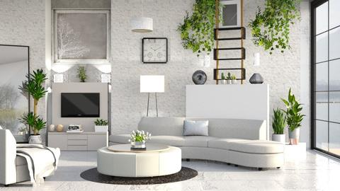 M_G - Modern - Living room  - by milyca8