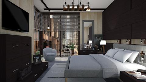 M_Wood wood - Bedroom  - by milyca8