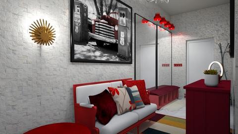 Welcoming Hallway - by becaaa