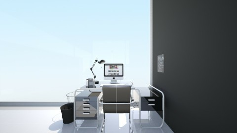 Office - Modern - Office  - by HarliecraftGamer