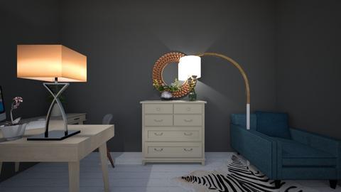 loft style bedroom - Glamour - Bedroom - by st3ve