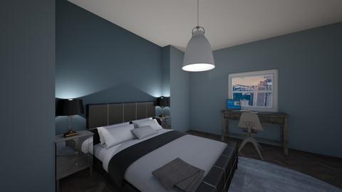Rainy Day Bedroom - Modern - Bedroom  - by superroommaker