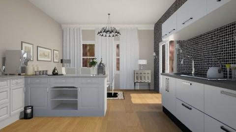Pas5 - Classic - Kitchen  - by Hanane Haidoune