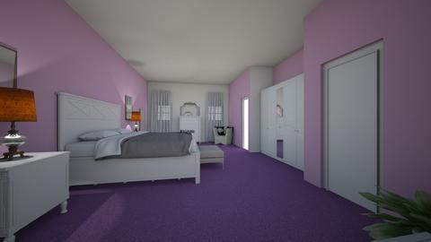 my bedroom - Modern - Bedroom  - by JazzzMariee23