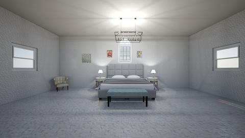 Greek Modern Bedroom - Modern - Bedroom  - by Charginghawks